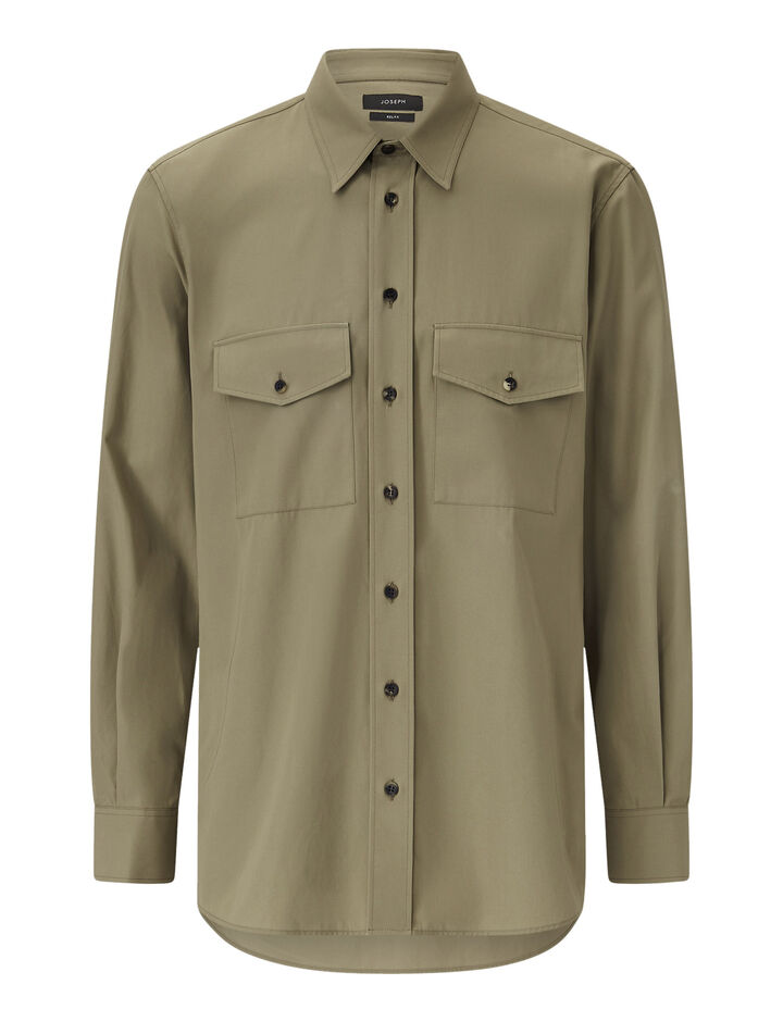 Joseph, Joseph-Cotton Twill, in KHAKI